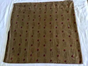 Ralph Lauren Formal Garden~Medieval Guinevere Collection~Floral King Flat Sheet