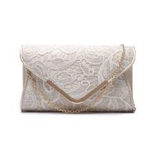 New Womens Designer Style Clutch Evening Bags Ladies Handbag Faux Suede