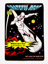 Grateful Dead Backstage Pass Silver Surfer Marvel Comics Colorado Co 11/25/1995