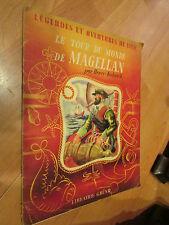 livre 1947 legendes et aventures de mer tour du monde de magellan kubnick grund