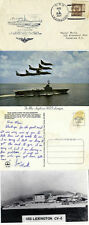 USS Lexington 1 APRILE 1934 Naval inseriti nella cache COPRI e due cartoline