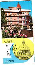 Casa Tra Noi Roma Italy Vintage Brochure Photos Lobby Restaurant Room