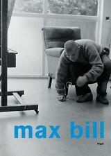 Libro specializzato Max Bill aspetti del suo stabilimento Design Nuovo E Ovp, molte informazioni