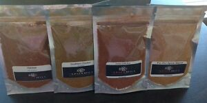 The Spice Mill - SPICE BLEND SAMPLE PACK - 4 X 25 GRAM SPICE BLENDS