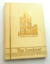 YEARBOOK  THE SENTINEL  1933 STATE UNIVERSITY OF MONTANA LOVELY PLATES 1933