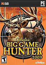 Cabela's Big Game Hunter 2009 by  in Used - Very Good