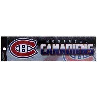 Montreal Canadiens - Bling Logo Bumper Sticker