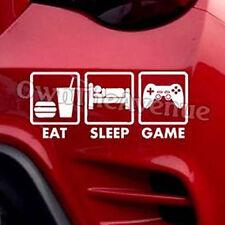 Eat Sleep Game Video Gamer Funny Dope JDM Chill Vinyl Decal Sticker (E.S.G.)