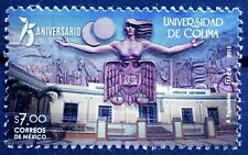 Mexico 2015 Colima University 75 Yrs Architecture Education Horse Woman TreesMNH