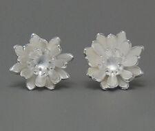 Ohrstecker Ohrring Blümchen Blüte Blume aus Sterling Silber 925