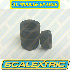 W8583 Scalextric Spare SET/TYRES/2FRONT/2REAR NO PRINT for GT40