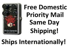New Electro-Harmonix EHX Bass Soul Food Distortion Fuzz Overdrive Effects Pedal!