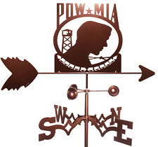 Us Pow-Mia Weathervane (Roof Mounting Included)