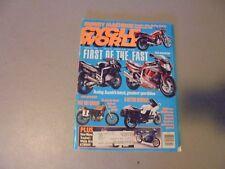 FEBRUARY 1991 CYCLE WORLD MAGAZINE,,HONDA NIGHTHAWK,BMW K100RS,GSX-R1100,750,