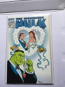 INCREDIBLE HULK # 418 WEDDING COVER FIRST APPEARANCE TALOS FIRST PRINT