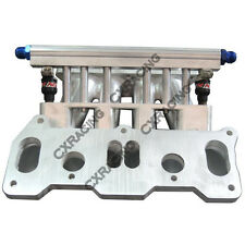 CXRacing Lower Intake Manifold For Mazda 13B REW Rotary Engine 6 Port RX7 FD