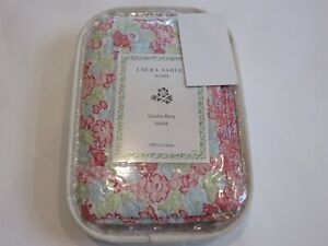 Laura Ashley Garden Party Floral Quilted Standard Sham