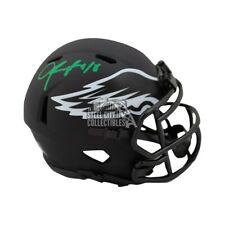 Jalen Reagor Autographed Eagles Eclipse Mini Football Helmet - BAS COA