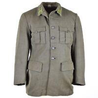 Genuine Vintage Swedish army wool uniform jacket M39 marines military navy grey