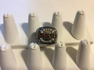 2009 Mississippi State Bulldogs SEC Championship Ring Player Issued Balfour CEL