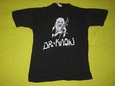 VTG DR KNOW TOUR T-SHIRT ORIGINAL 80s CONCERT TEE EXPLOITED BAD BRAINS PUNK ROCK