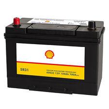 Shell SR31 Asia Autobatterie 12V 100AH Starterbatterie Plus Pol Links 60033