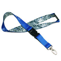 New GE Blue Lanyard Belt Sling for ID Case Badge Holder of Flight Crew