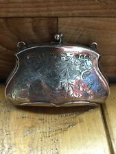 Antique Vintage Victorian Sterling Silver Ladies Evening Purse Birmingham 1894