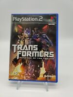Transformers: Revenge of the Fallen With Booklet (Sony PlayStation 2, 2009)