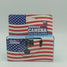 New ListingNos American Flag 35mm Film Disposable Cameras Point&Shoot * Expired 2010