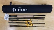 ECHO TRIP 890 9' 6WT TRAVEL FLY ROD c/w CASE