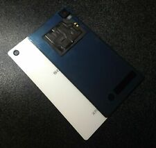 For Sony Xperia Z2 Rear Back Battery Cover Glass Panel + NFC Antenna White
