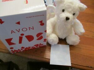Avon 2001 Inspirational Singing Angelic Bear NIB