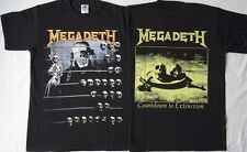 MEGADETH Countdown To Extinction OFFICIAL ORIGINAL T-SHIRT METALLICA SLAYER KISS
