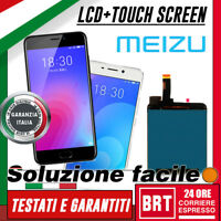 DISPLAY LCD+TOUCH SCREEN PER MEIZU M6 M711Q M711H VETRO SCHERMO MONITOR NERO!!!