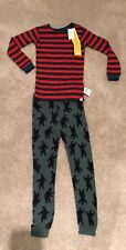 NWT Gap PJ Bear red dark green 5