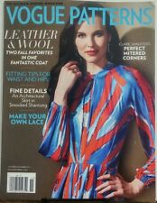 Vogue Patterns Oct Nov 2017 Leather & Wool Two Fall Favorites FREE SHIPPING sb