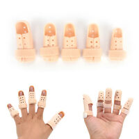 6 Sizes Plastic Finger Injury Protector Support Brace Splints Joints ProtectioHQ