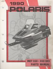 1990 POLARIS SNOWMOBILE INDY 650, 650 SKS PARTS MANUAL 9911680 (157)