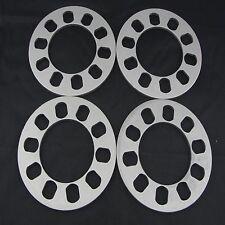 "(4) 5x4.5 Wheel Spacers | 1/4"" 6.35mm Thickness | Pair 5lug"