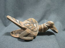 New listing Old Papua New Guinea Sepik Carved Wood Pigments Bird Totem Amulet