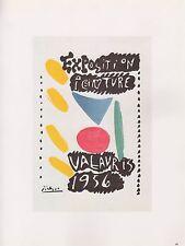 """1989 VINTAGE /""""PICASSO LES MENINES /'59/"""" MOURLOT COLOR offset Lithograph"""