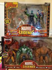 toybiz marvel legends : HOUSE OF M box set and YOUNG AVENGERS box set .