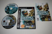 Ghost Recon Advanced Warfighter Playstation 2 PS2 Video Game Complete