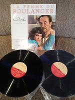"Die Femme Du Boulanger Marcel Pagnol - 2 X LP vinyl Vinyl 12 "" 1960 G VG France"
