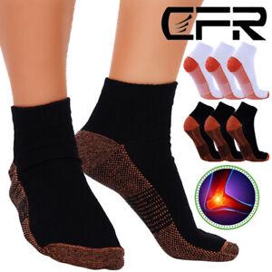 Kupfer Anti Müdigkeits Kompressions Socken Schmerzen Strümpfe gegen Schwellungen