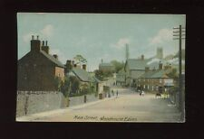 Leicestershire Leics WOODHOUSE EAVES Main St P Raworth shop1907 PPC mailed from