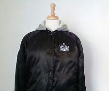 Vintage Hockey LA KINGS Black Hoodie Jacket NHL LOS ANGELES Sz M