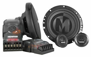 "Memphis Audio PRX60C 6.5"" 100 Watt Component Car Speakers w/Crossovers"