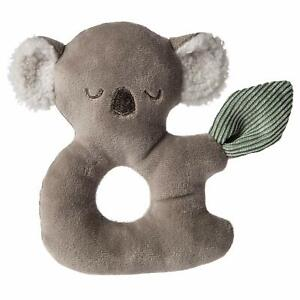 "Mary Meyer Soft Toy Baby Rattle, 6"", Down Under Koala"